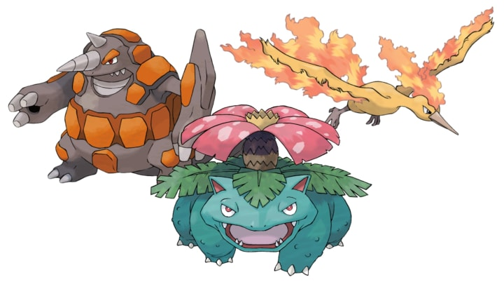The ideal team to face Cliff will have Fire, Grass, and Ground types.
