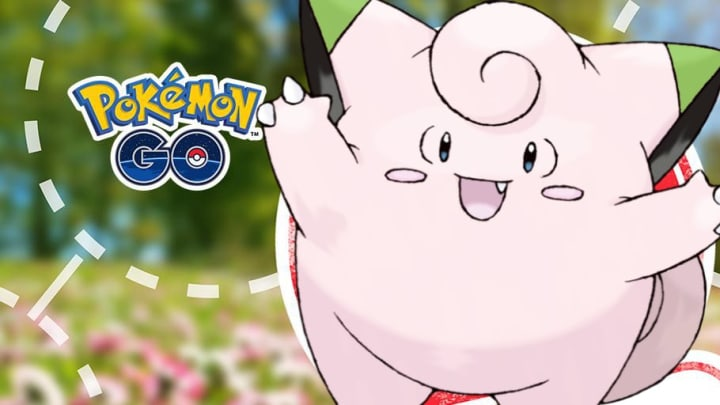 Shiny Clefairy appears for the first time in the wild. | Photo by Niantic and GAMEFREAK, Edit by Andrew Lin