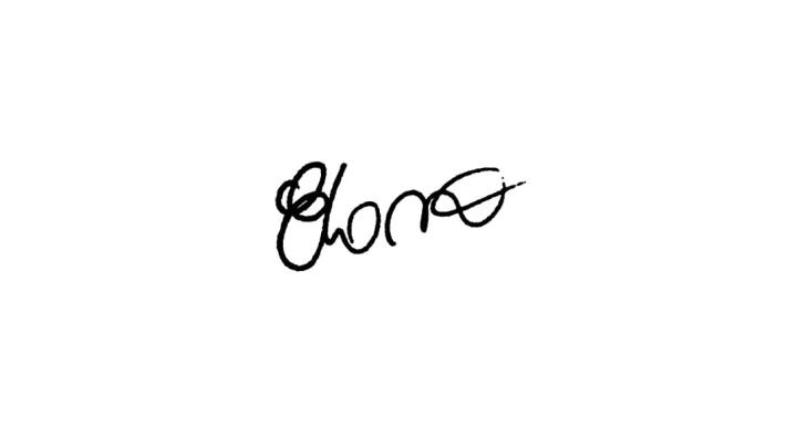 Autografo Elano Santos