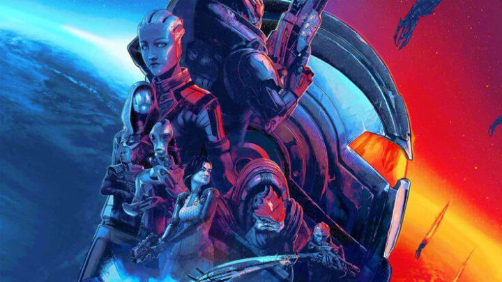 Mass Effect Legendary Edition brings back the old trilogy.