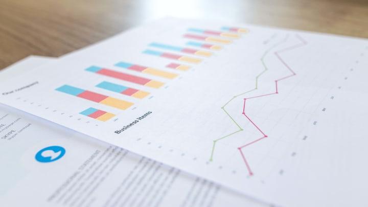 Google analytics data in three categories