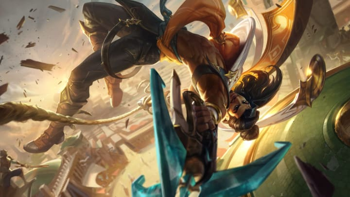 Akshan is a high-flying rogue and the newest member of the Sentinels of Light.