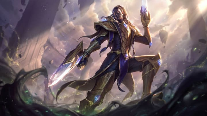 Lucian, picked as an AD carry or mid laner, ranks among the worst mid laners in the upcoming League of Legends Patch 11.9. Courtesy of Riot Games.
