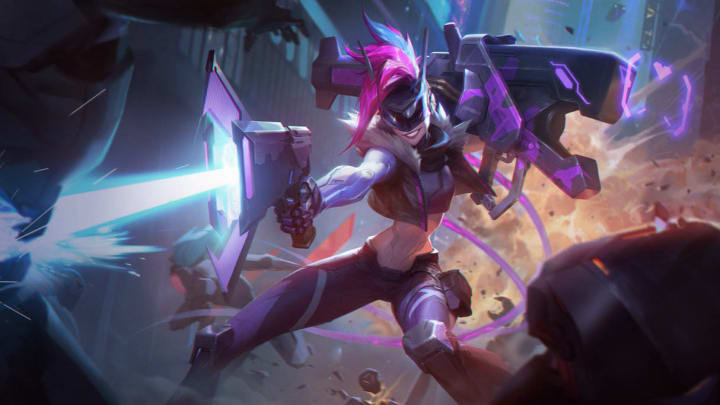 5 Best AD Carries in League of Legends Patch 11.7 Project Jinx