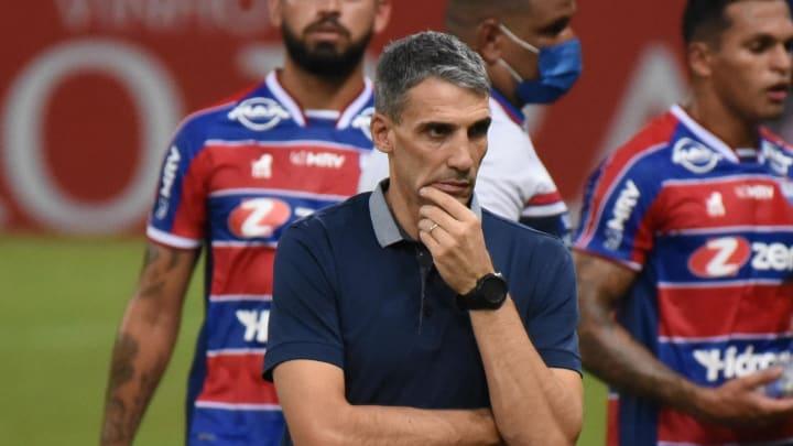 Técnico argentino ainda não perdeu desde que chegou ao Fortaleza
