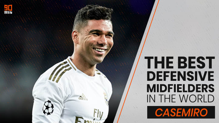 During his trophy-laden years at Real Madrid Casemiro has grown into one of the world's best defensive midfielders