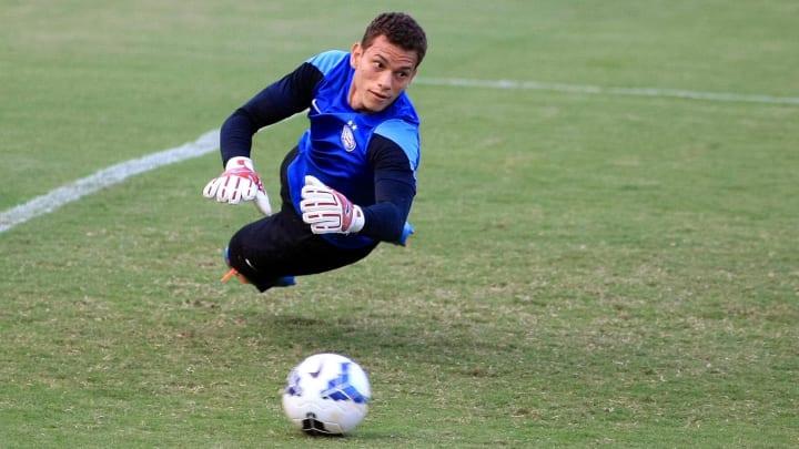 Guido treinando pelo Bahia.