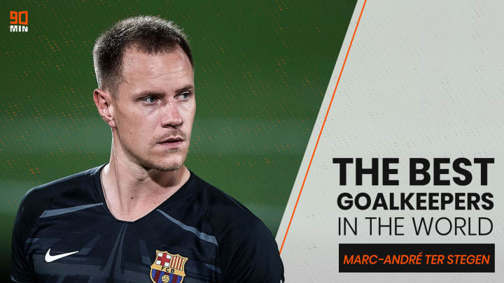 Marc-André ter Stegen has become one of Europe's most revered goalkeepers excelling, in particular, with the ball at his feet