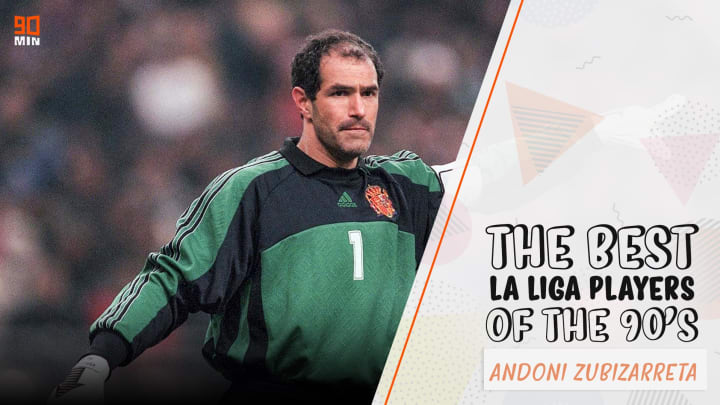 Andoni Zubizarreta was Barcelona's ever-dependable goalkeeper during one of the most successful eras in their history