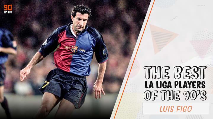Barcelona's wing wizard Luis Figo