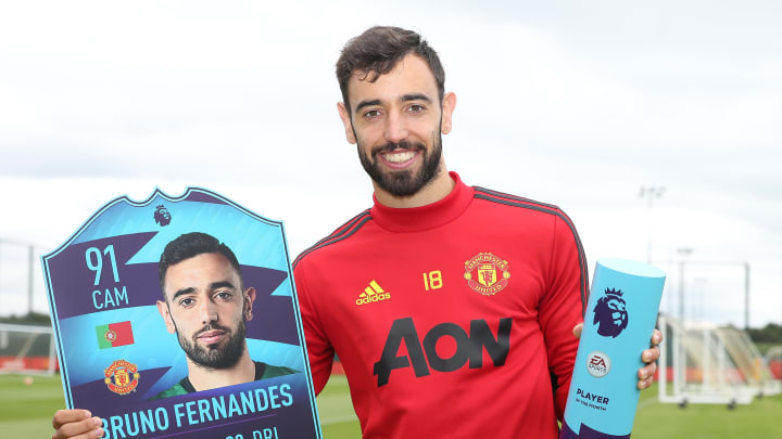 Bruno Fernandes won the award for the second month straight