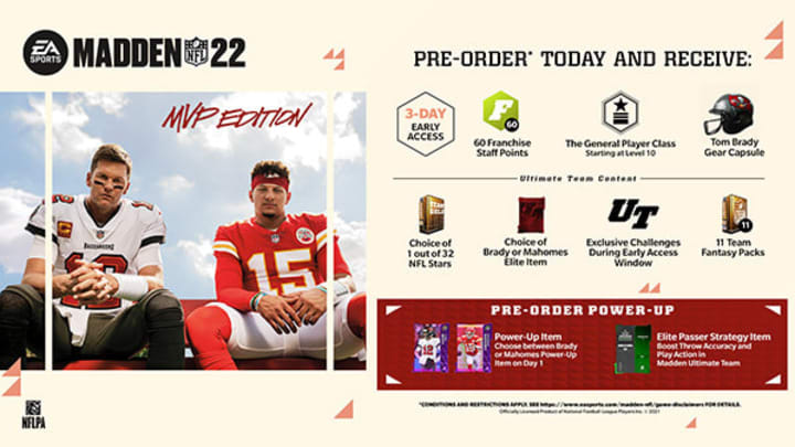 Madden 22 is rapidly approaching its release date—significantly narrowing the window where fans can pre-order the game.