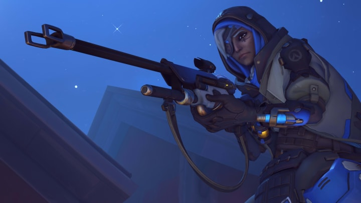 Ana preparing to carry her team to victory. Where would we be without nano?