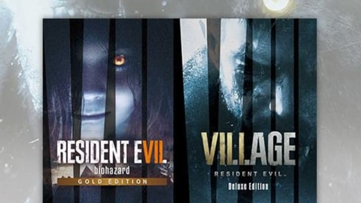 Resident Evil Village and Resident Evil 7 Complete Bundle including Resident Evil biohazard and Resident Evil Village