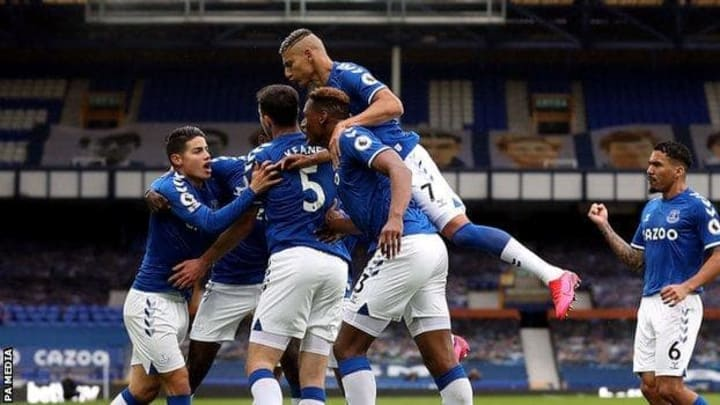 Everton ended a four-game winless run last time out