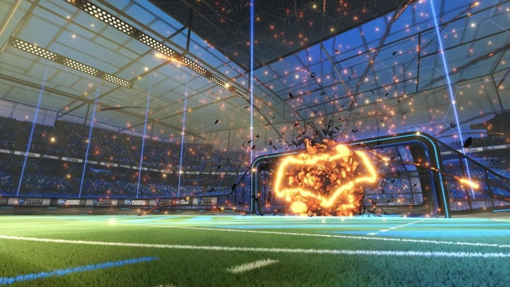 Batman Goal Explosion