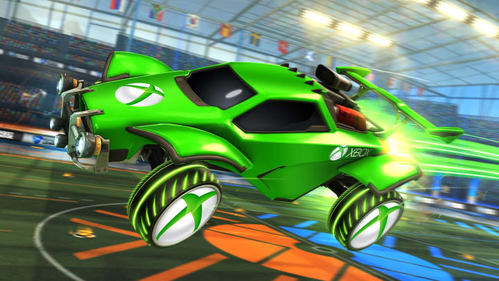 Rocket League Codes Xbox One 2020 How To Get The Xbox Customization Pack
