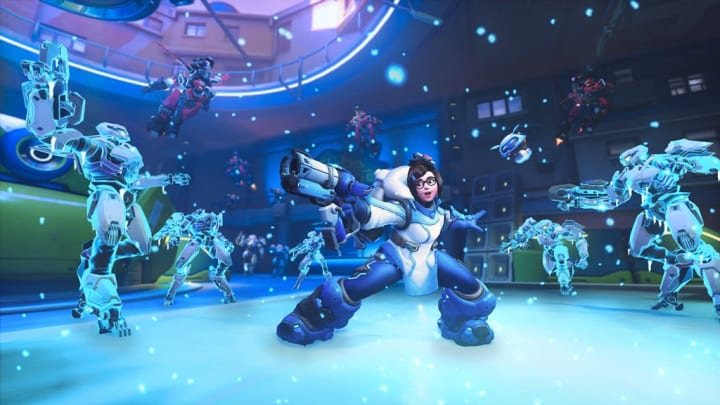 One Overwatch play engineer has brought a handful of tactics to light showcasing Mei as the ultimate crowd control specialist—regardless of team.