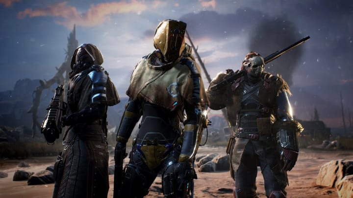 Several new Outriders players have reported being stuck at the sign-in screen when booting up the game for the first time.