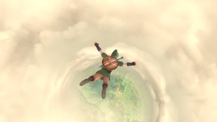 Here's how to dive in The Legend of Zelda: Skyward Sword HD.