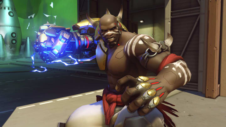 Doomfist has no Summer Games skins, emotes, or highlight intros.