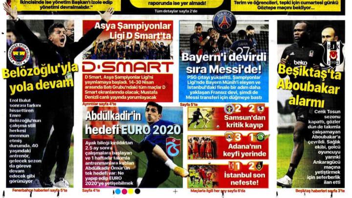 15 Nisan Haberlerinde Ön Plana Çıkan Gazete Manşetleri