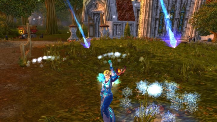 World of Warcraft The Burning Crusade Classic, Mage doing aoe spellcleave