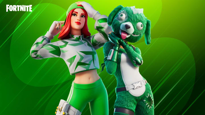 Chance and Clover outfits from Fortnite