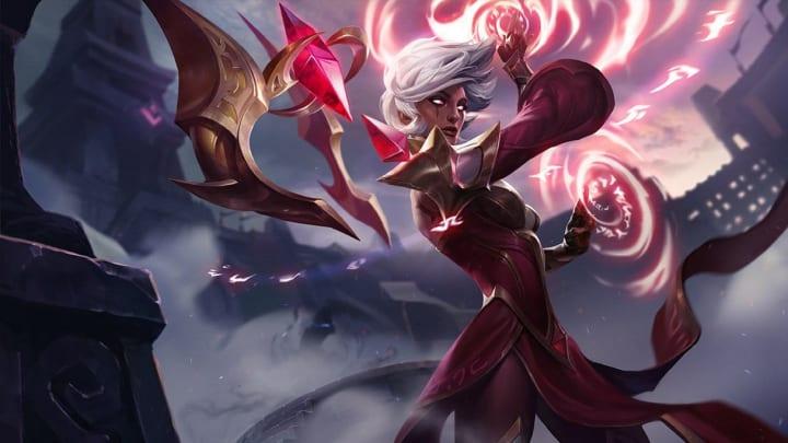 League of Legends Conqueror Karma Skin