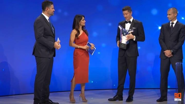 Robert Lewandowski UEFA POTY