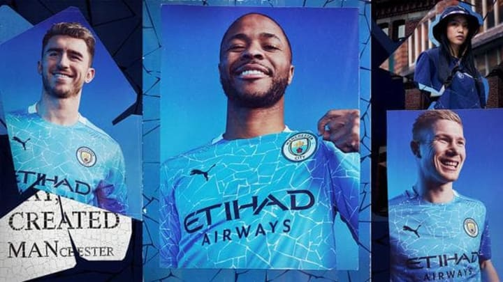 Manchester City have released their new home kit