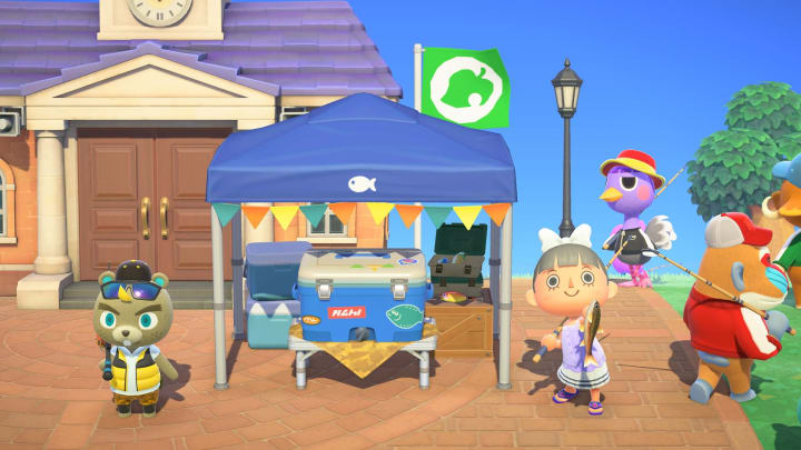 Animal Crossing fish for July 2021 are now available.