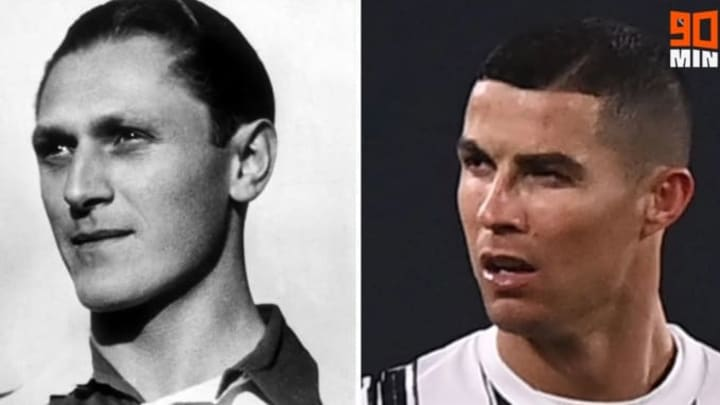 Cristiano Ronaldo and Josef Bican are equal on the most number of goals officially scored in football history
