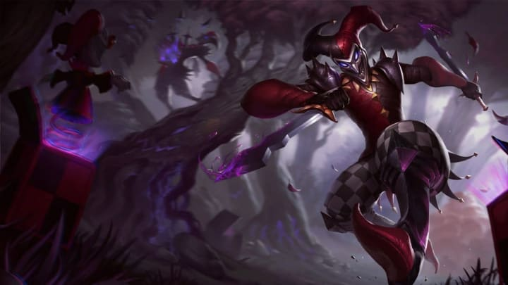 The Shaco Anarchist skin was announced today alongside those for Kog'Maw and Zoe. Learn how to get yours below.