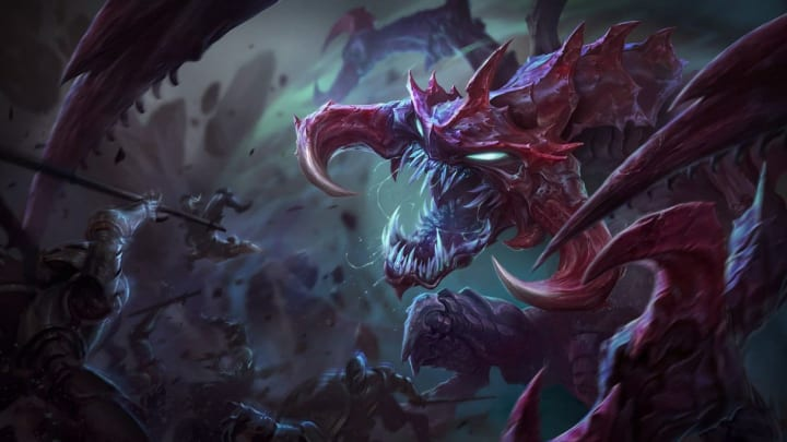 Cho'Gath remains one of the strongest top laners in the game.