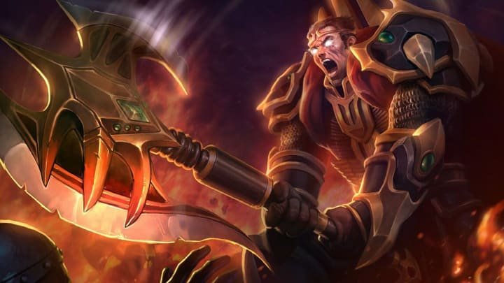 Darius is an S-tier toplaner in League of Legends patch 11.1