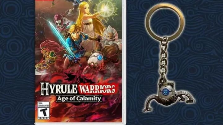 Hyrule Warriors Age Of Calamity Pre Order Bonuses Detailed