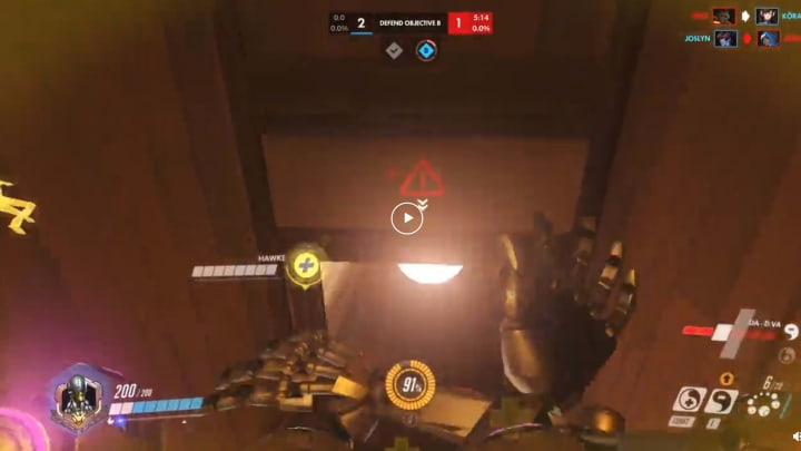 A Zenyatta player recorded a trick that he shared on Reddit.