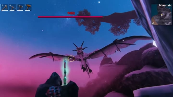 Dragon tears are retrieved from Moder, the fourth boss in-game.