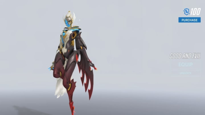 The Overwatch League 2020 MVP Skin was revealed on Wednesday.