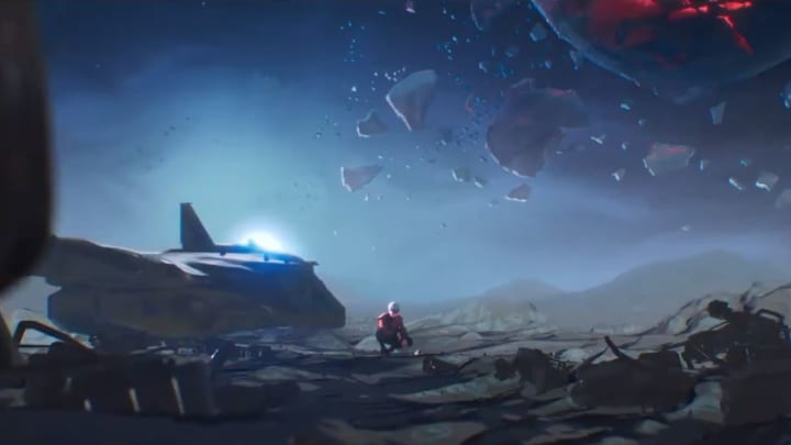 A new animated short shows the origins of Valkyrie, and some ties to the Titanfall world.