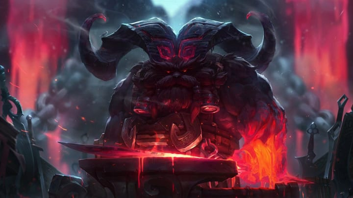 League of Legends' best top lane champions in Patch 10.10 includes Ornn.