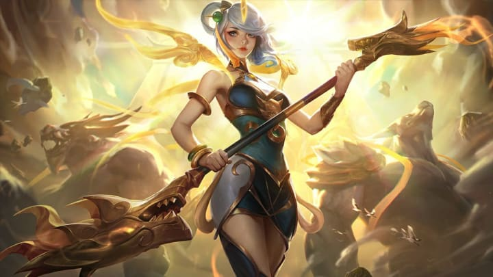 Lux and Sona are a legitimate bot lane duo that you should consider