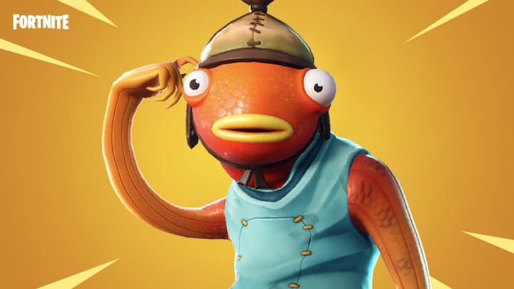 Serving Fishstick and his date a fancy meal is one of Fortnite's Week 11 challenges.