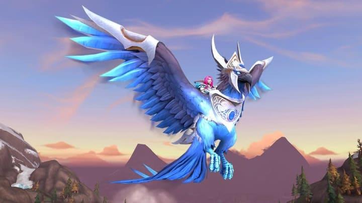 The new Sapphire Skyblazer mount