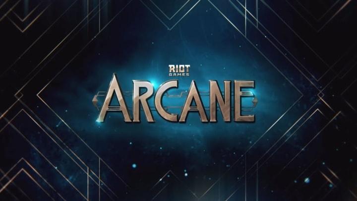 Title Card for Netflix's new original League of Legends based animation, Arcane