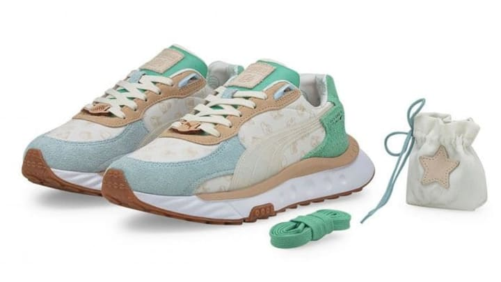 Preview of the Animal Crossing Puma shoes