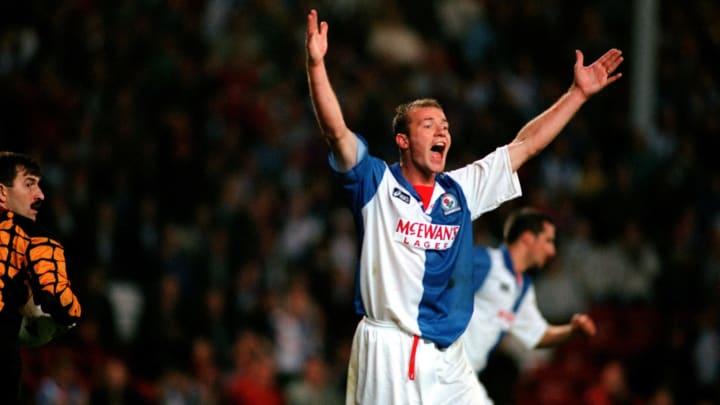 Alan Shearer trong màu áo Blackburn Rovers