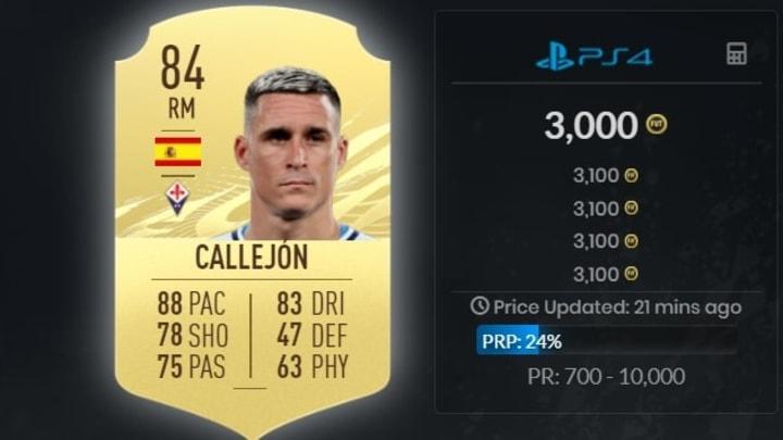 José Callejon a de quoi s'installer au poste d'ailier droit.