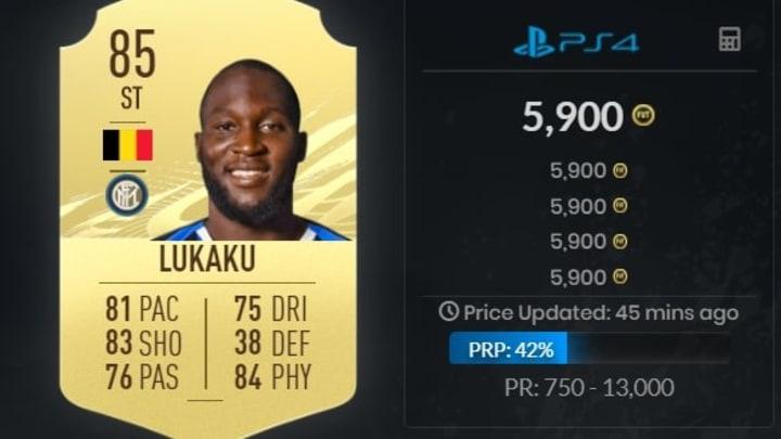 Romelu Lukaku peut inscrire de nombreux buts à la pointe de votre attaque.